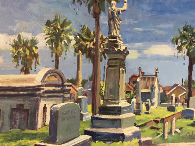 Old Galveston Cemetery, Episcopal Section